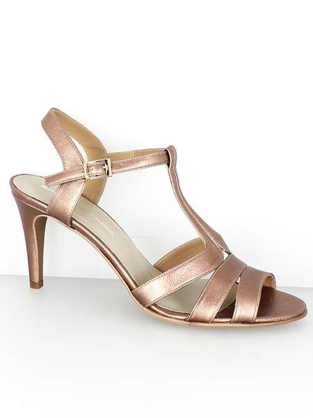 Sandale à talons Bronze - Brenza Zaro - Du 42 au 46 9b1a16050206