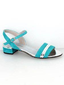 Sandale turquoise habillée – Du 42 au 45 – Turquoise, Corail et Beige 01ebbf851413